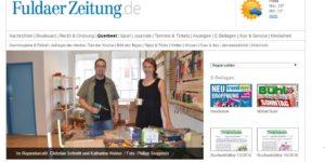 Zeitungsartikel Fuldaer Zeitung